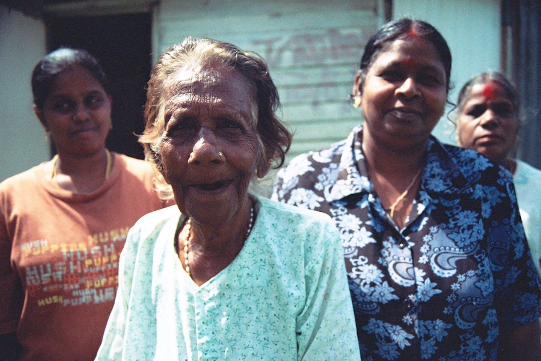 elderly woman in KL
