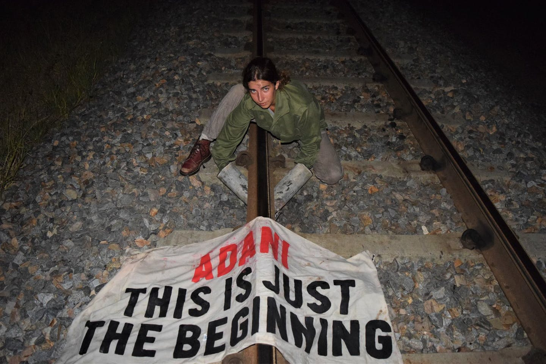 Freya adani coal protester