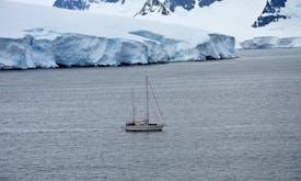 Plastic waste now litters Antarctic shore