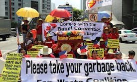 The Philippines is not a garbage dump for rich nations, environmentalists warn