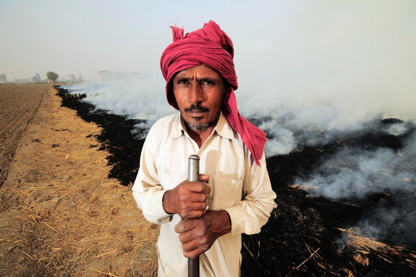 indian farmer climate suicide