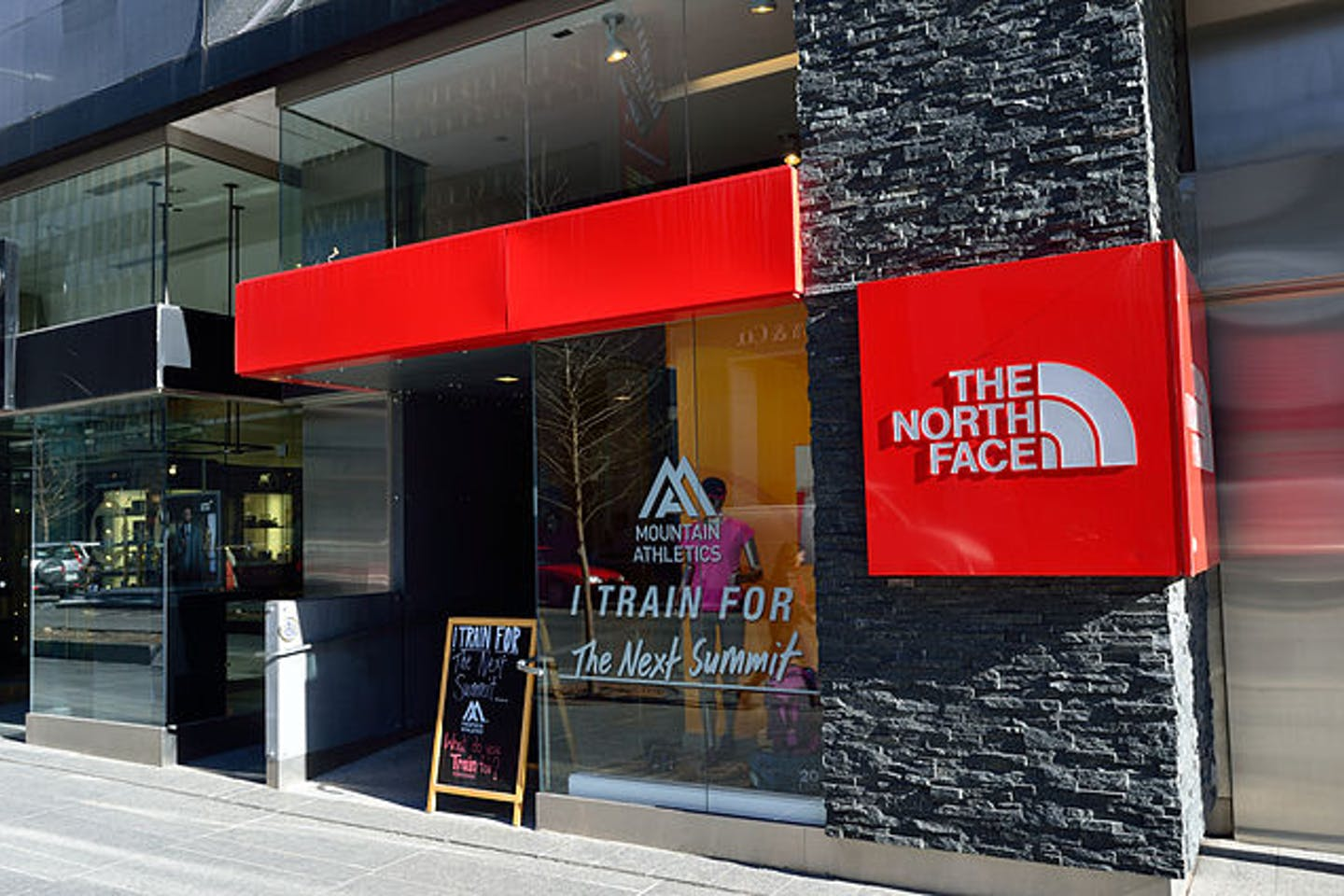 north face store