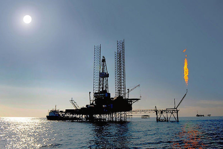 Dragon oil platform