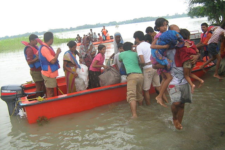 Bihar floods 2008