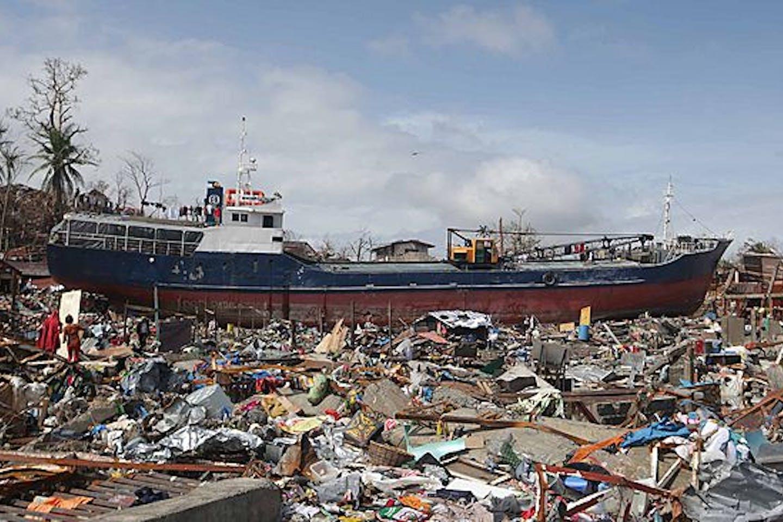 Impact of Super Typhoon Haiyan