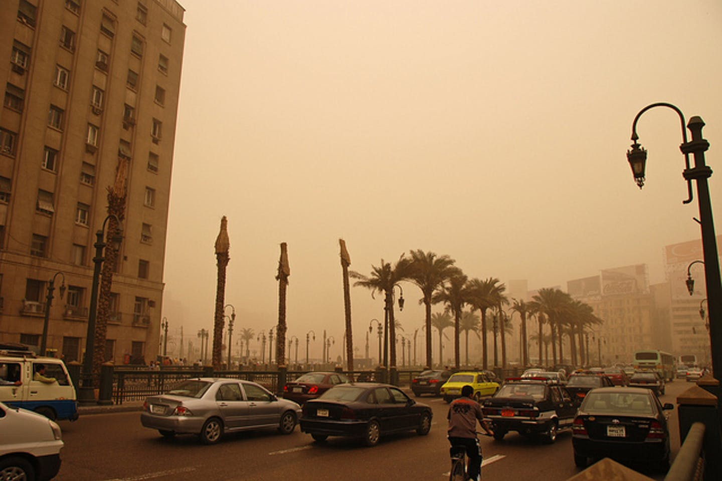 air pollution in Cairo Egypt