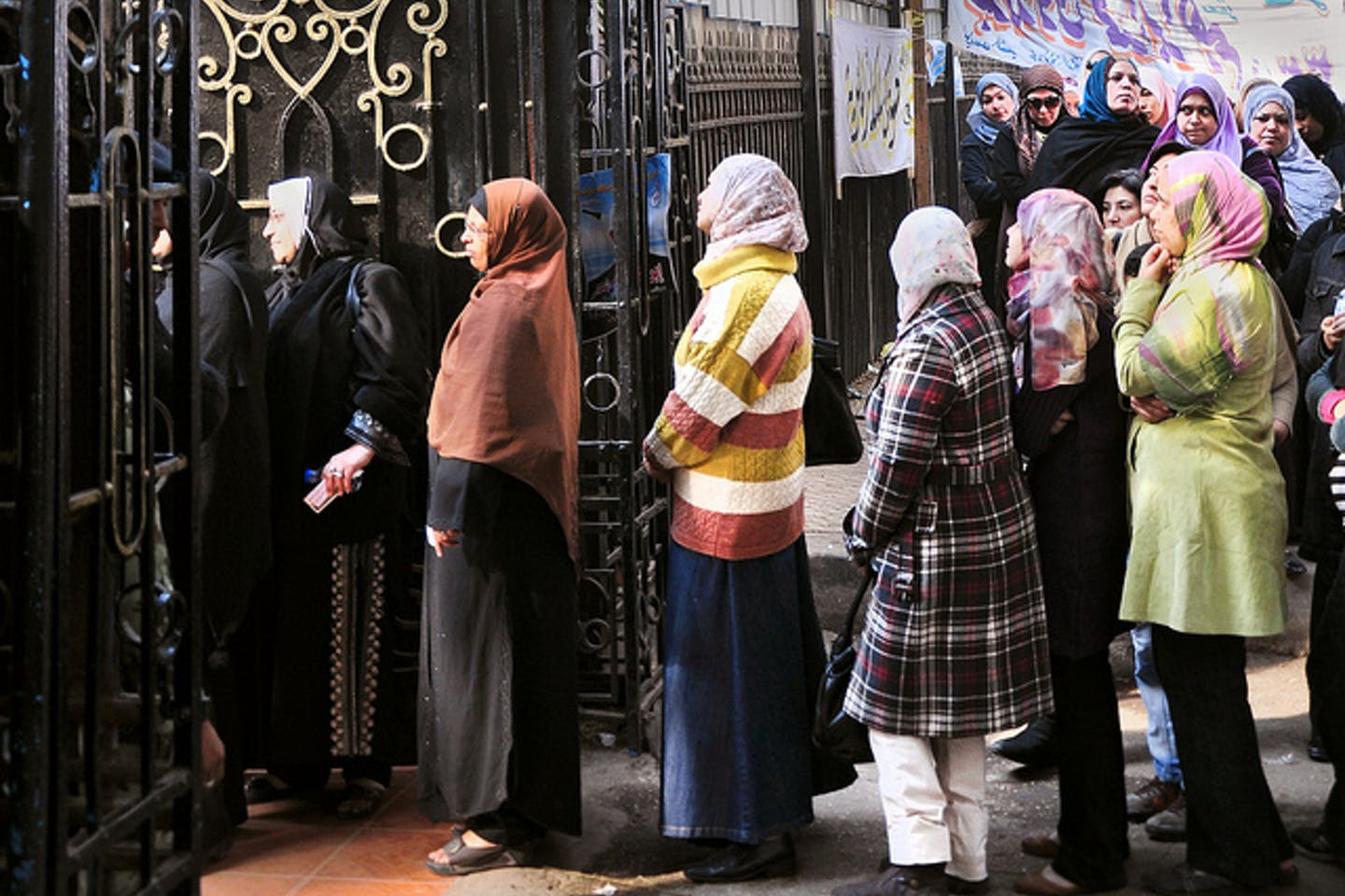women vote egypt