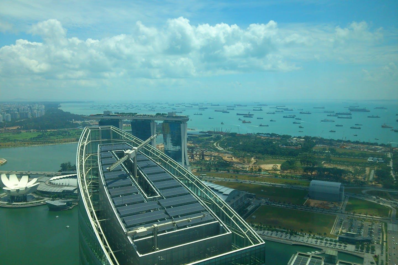 solar panels singapore building