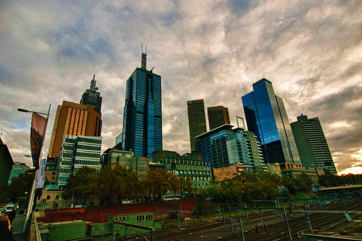 melbourne australia central business district