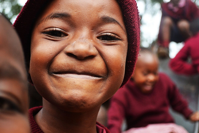 Kenyan school kids