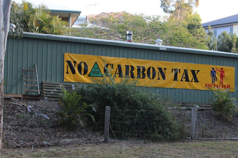 no carbon tax queensland