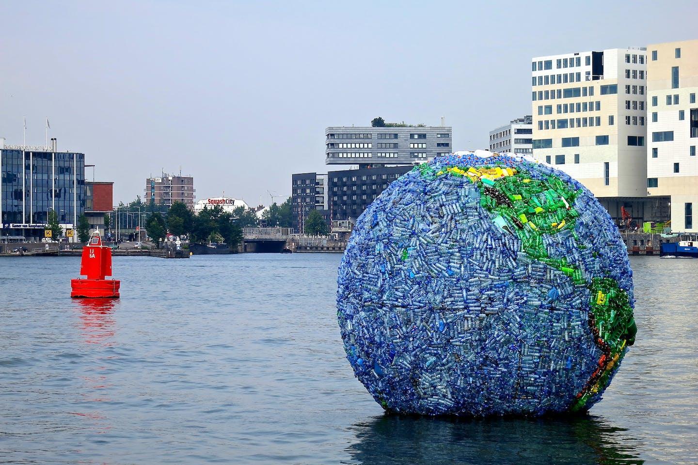 Plastic globe
