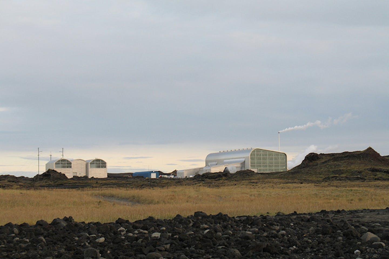 Reykjanes geothermal power plant