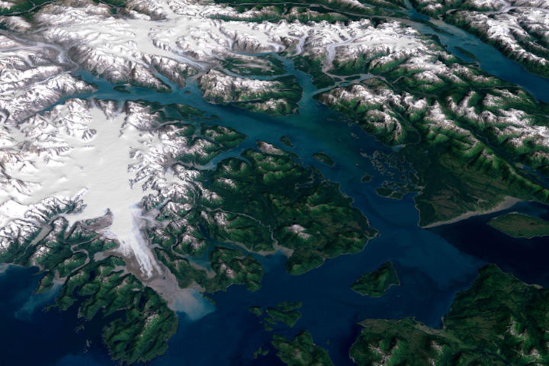 Glacier Bay Alaska imaging