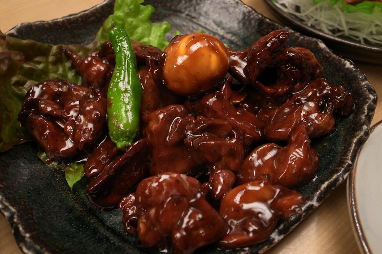 chicken liver gizzard offal