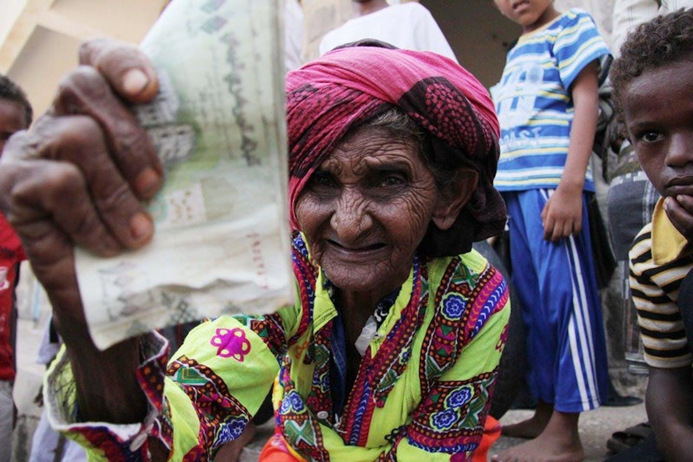 old woman yemen