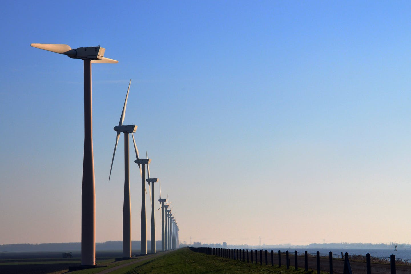 wind farms in the Netherlands