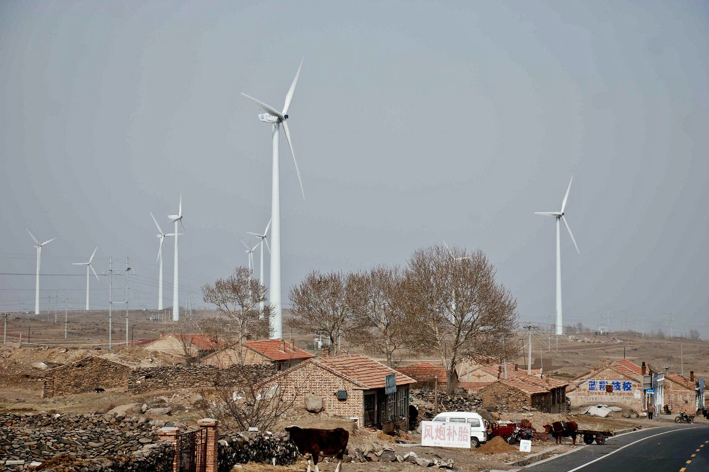 rural china wind energy
