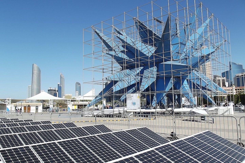 solar in Abu Dhabi Corniche