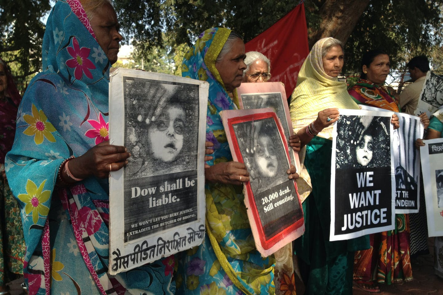 bhopal medical appeal protests