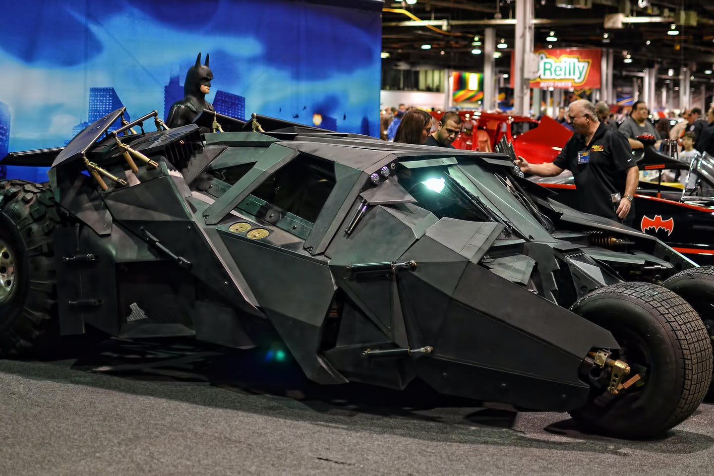 One Batmobile