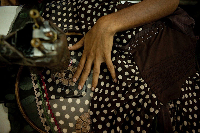 India women garment worker