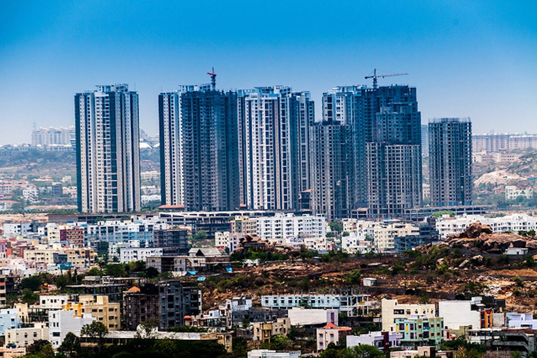 Hyderabad India skyscrapers