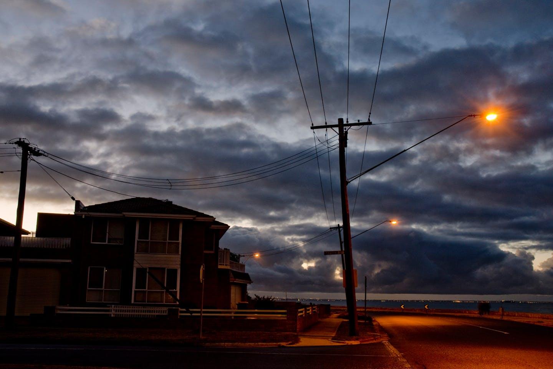 suburban australian home