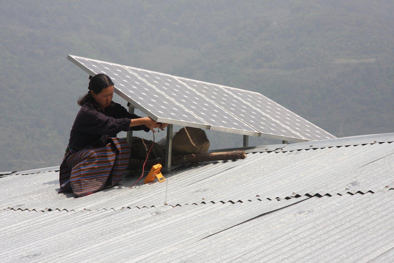adb bhutan solar