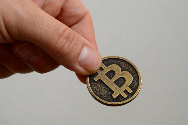 Giving bitcoin