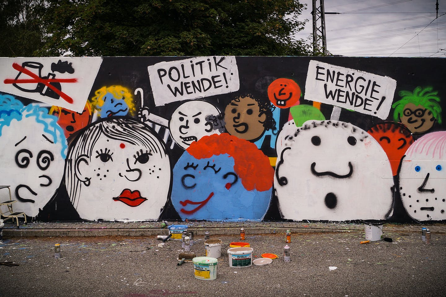 climate mural