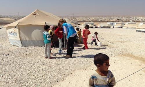 Refugee doctors for refugee health