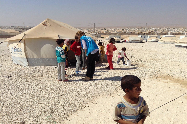 zaatari camp FCO