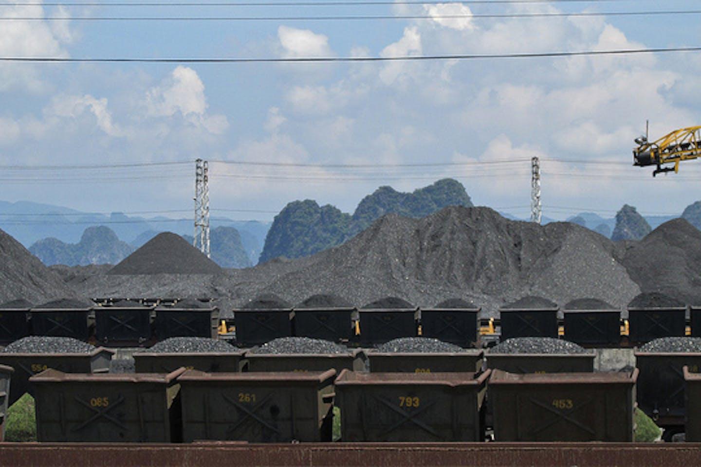 coal depot in Vietnam