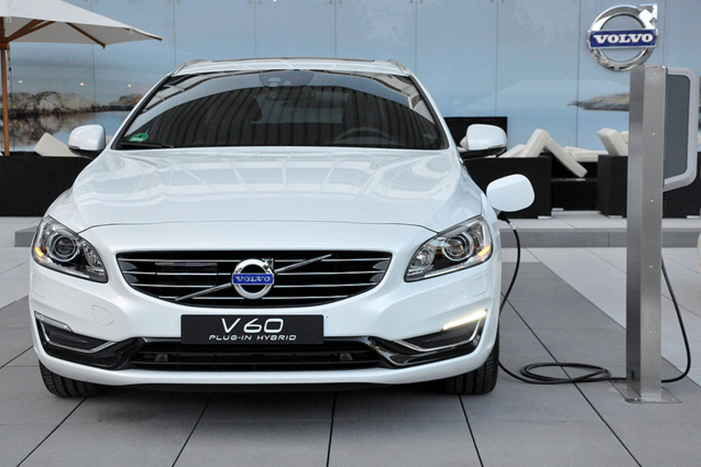 Volvo V60 plug in hybrid car
