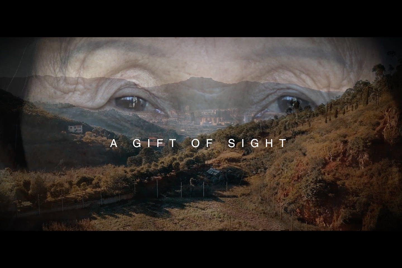 A gift of sight thumbnail image