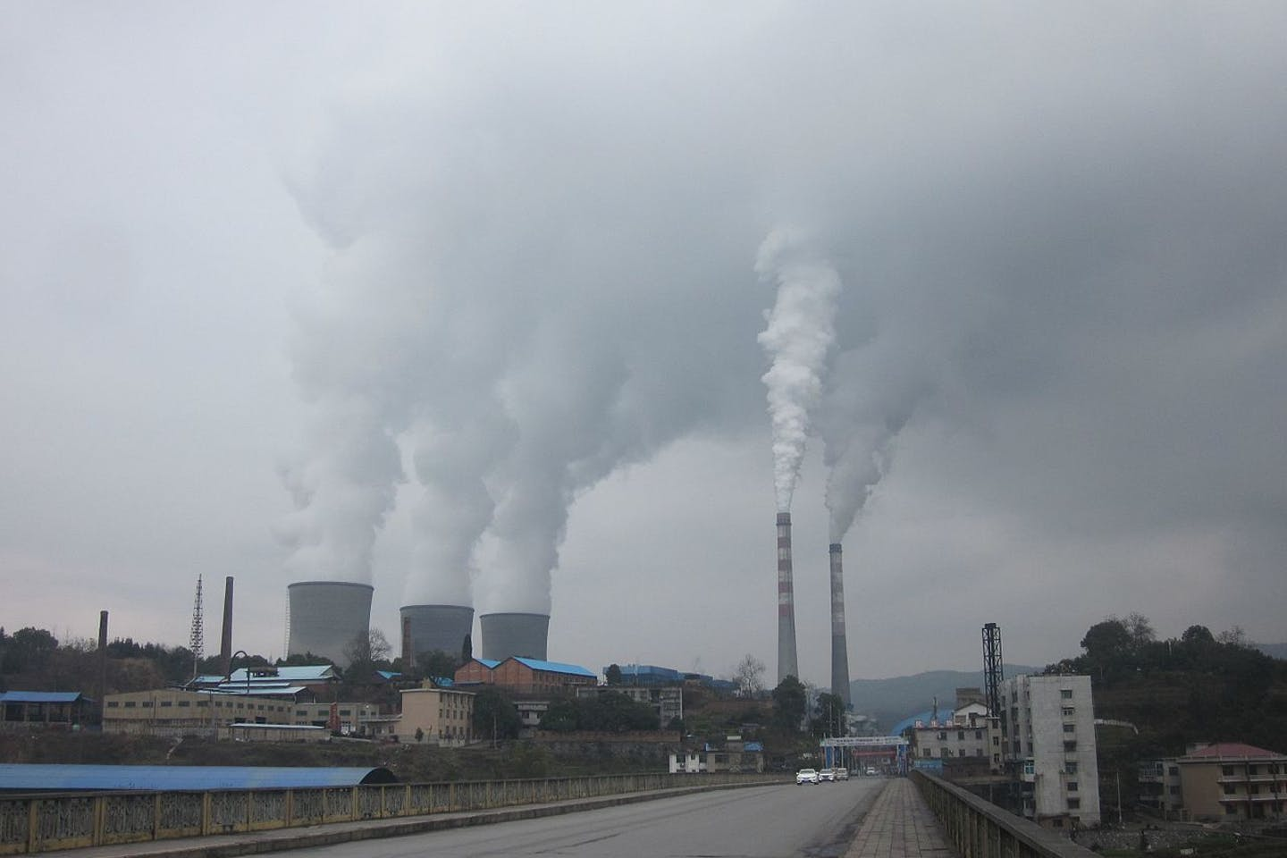 thermal coal plant in Hunan