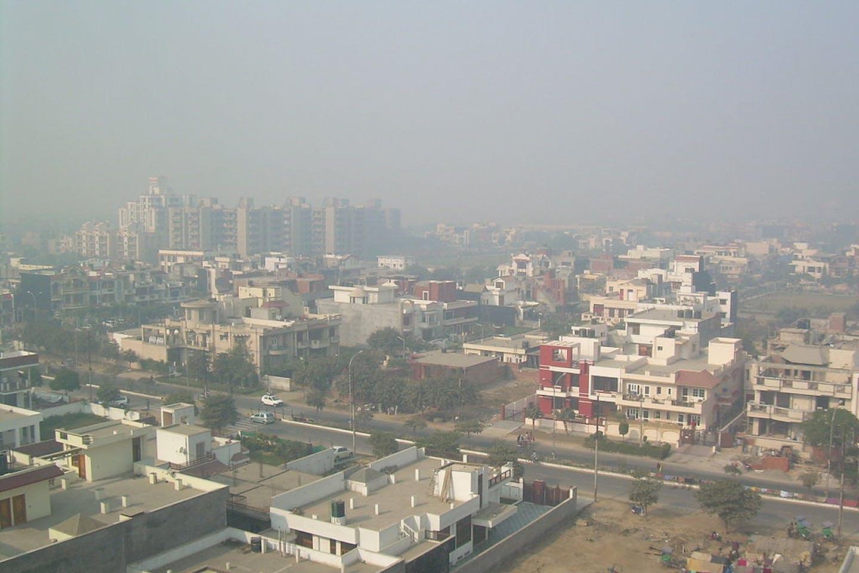 polluted delhi