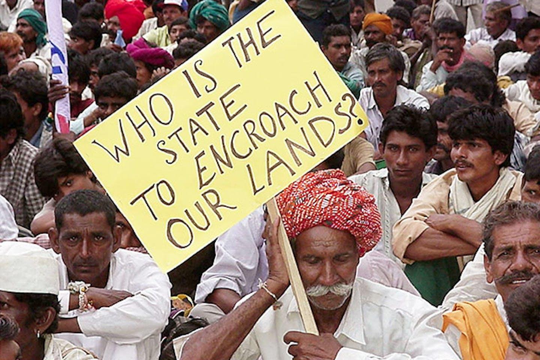 Narmada dam protest