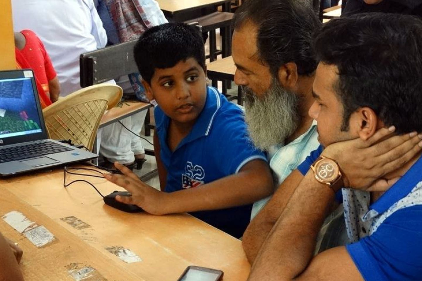 Mumbai residents play Minecraft to design community spot