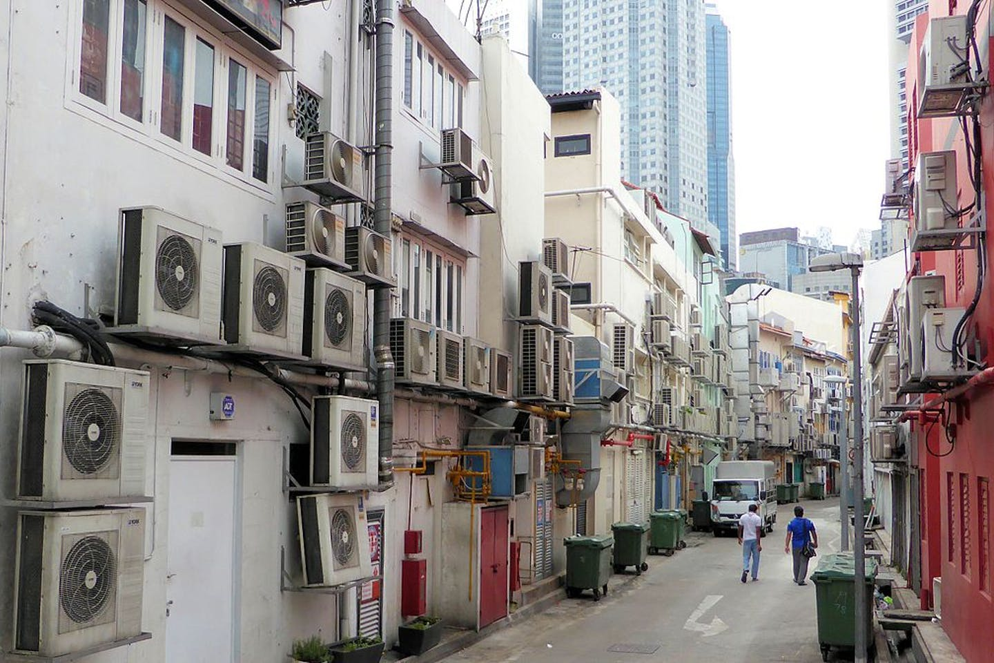 AC use in Asia
