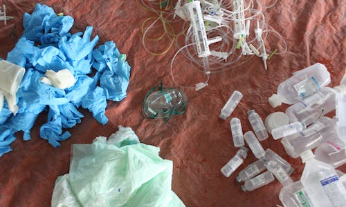 Plastics are not labelled in Philippine and Indonesian hospitals—this is bad for our health and the planet