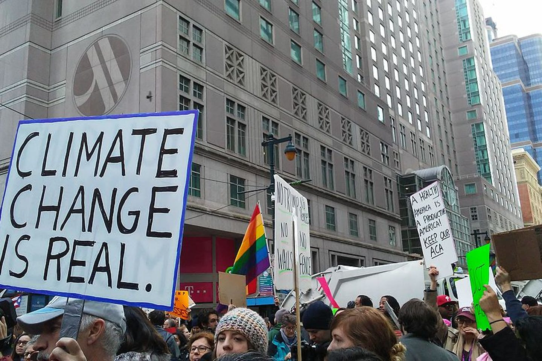 anti trump climate change