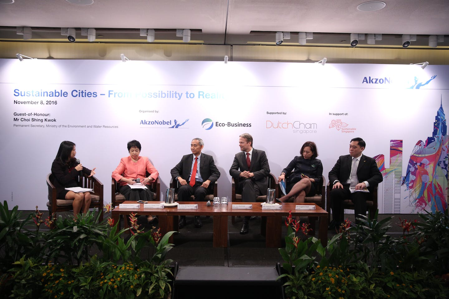AkzoNobel Cities:Possibilities panel discussion 2016
