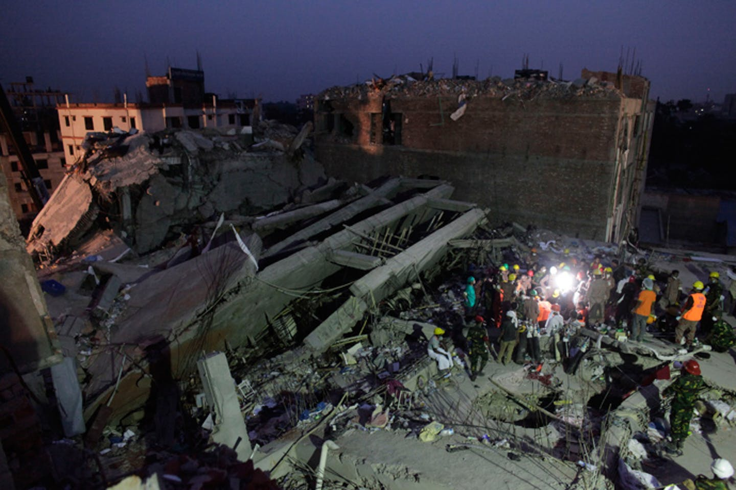 Collapse of Rana Plaza in Bangladesh
