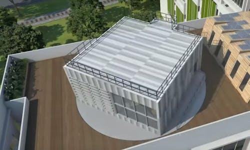Singapore unveils new green building 'skylab' for the tropics