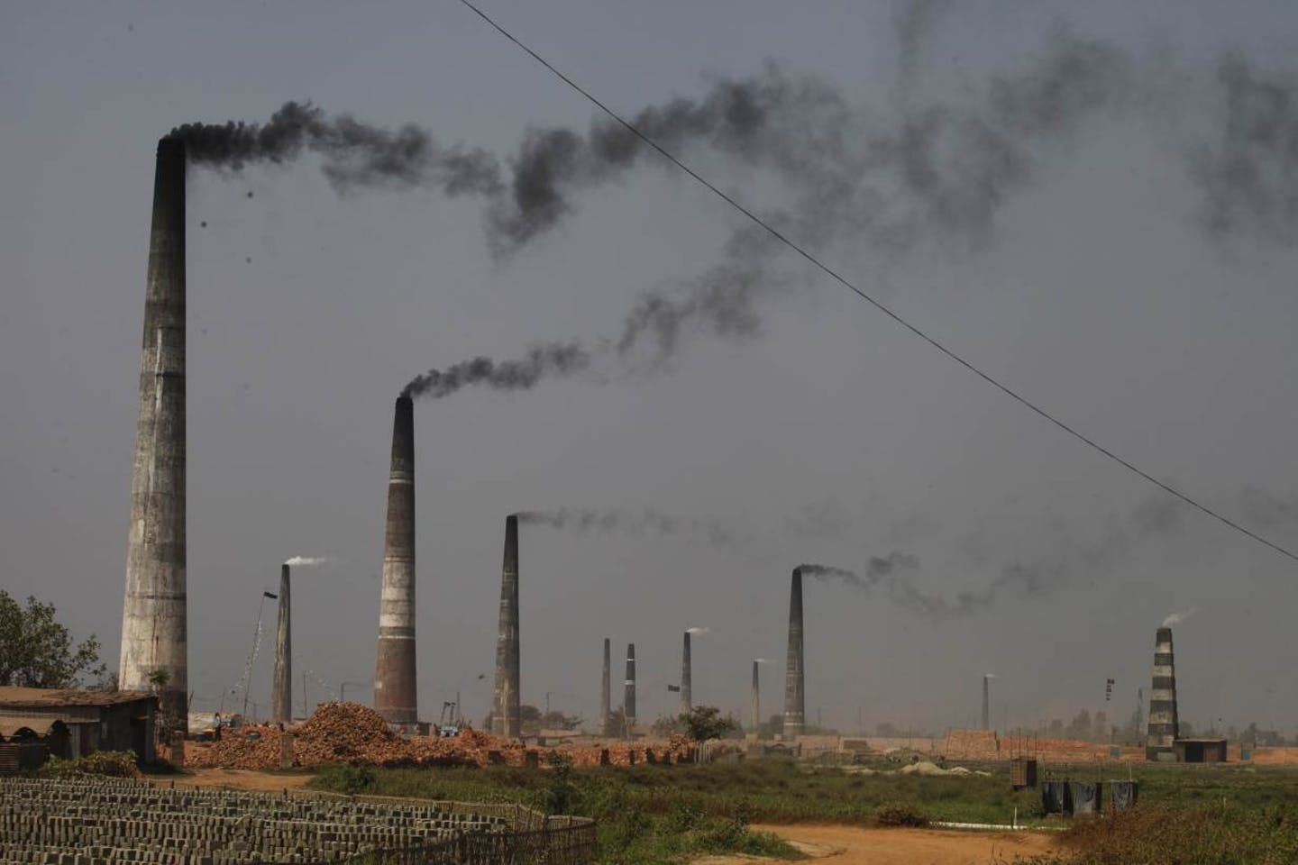 Bangladesh smokestacks