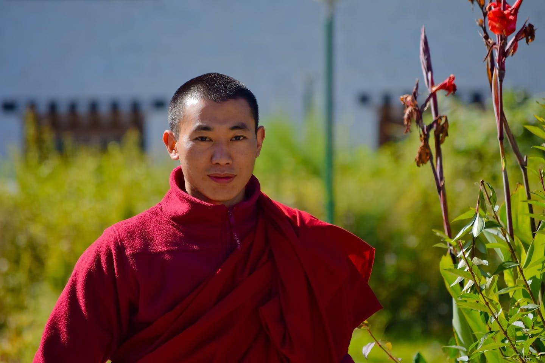 Bhutan Buddhist monk