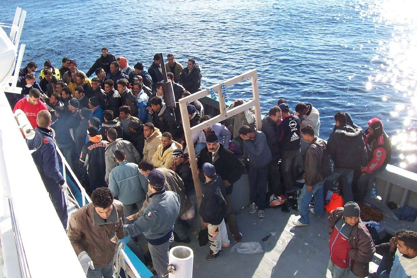 migrants in sicily