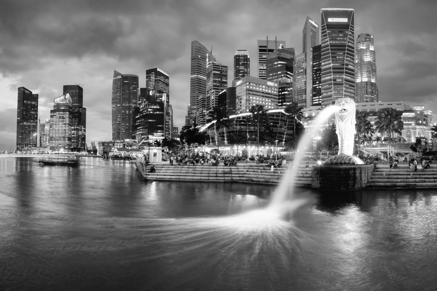 merlion watery